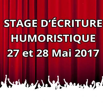 Stage écriture