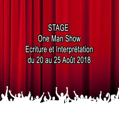 STAGE ECRITURE & INTERPRETATION 20 au 25 Aout 18