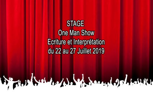 Stage One Man Show Ecriture et Interprétation