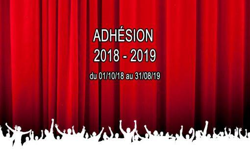 ADHESION 2018-2019